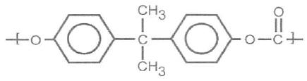 Chemical structure of PC