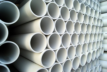 Most popular PVC application: tubes in building